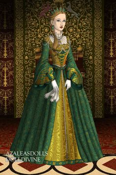 New Character ~ by Sekaistar ~ created using the Tudors doll maker | DollDivine.com