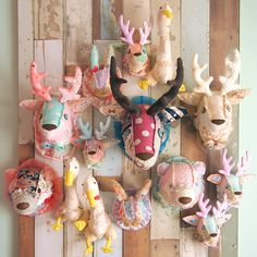 Animal Heads, Blog Entry, Art For Kids, Deco, Bunny, Kawaii, Crafty, Sewing, Taxi
