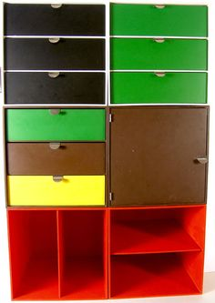 Ristomatti Ratia, Palaset storage cubes, 1970s