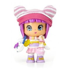 Pinypon Snow Figures: Girl with Pink Beanie <3