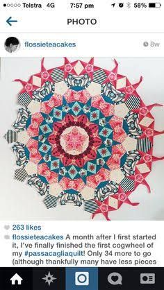 Image result for millefiori quilt pattern