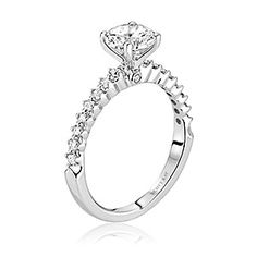 Scott Kay diamond solitaire engagement ring. Available at Spitz Jewelers. https://www.facebook.com/SpitzJewelersScott Kay, (SCOT-1523 Radiance)