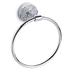 Shop for Wilko Mosaic Towel Ring Silver at wilko - where we offer a range of home and leisure goods at great prices. Mosaic Bathroom, Glass Mosaic Tiles, Bathroom Towels, Wall Mounted Towel Rail, New Bathroom Ideas, Silver Bathroom, Wall Accessories, Towel Rings, Silver Rings