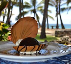 Polynesian Black Pearl Liliko'i chocolate mousse. Delicious! What are your Maui musts? #travel #aloha #Hawaii #Maui