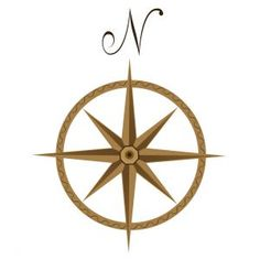 Four Pointed Nautical Star | Quote A Compass Rose Sometimes Called A  Windrose Is A