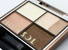 Lunasol Vivid Clear Eyes Eyeshadow Palette Review, Swatches and Photos