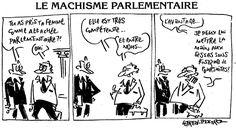 Humour Fillon: Pas de machisme parlementaire