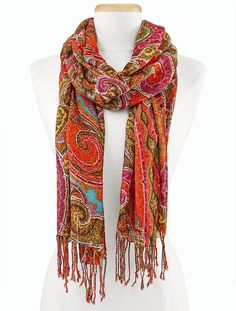 Talbots - Paisley Scarf | New Arrivals |