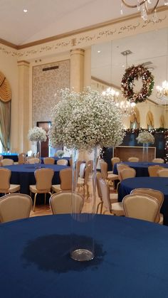 All baby's breath elevated, DuPont Country Club