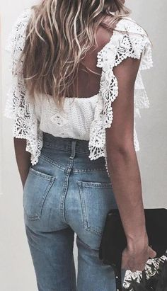 #summer #fresh #trends | Josephine Top + Denim