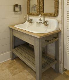 Diy Bathroom Vanity Sink Design Ideas, Pictures, Remodel, And Decor   Page  2 Kohler Brockway Sinks