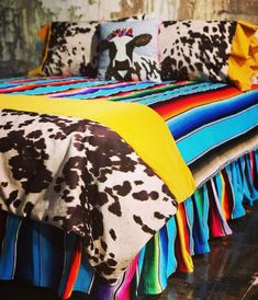 ***GUARANTEED CHRISTMAS DELIVERY CUT OFF DATE Yellow crush comforter, complete set, comes with 1 comforter, 1 serape bed skirt, 1 set of mad cow pillow shams. (Twin sets come with a single sham. A second sham may be added to you order upon request. Bedding Sets Online, Luxury Bedding Sets, Linen Bedding, Bed Linens, Comforter Sets, King Comforter, Girl Bedding, Master Suite, Furniture