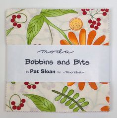 BOBBINS AND BITS Prints Charm Pack by Pat Sloan for by Jambearies
