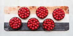 Decadent Chocolate and Raspberry Tarts with Avocado - Lifestyle FOOD
