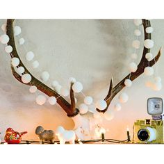 New In! Pompom garlands - in white and rainbow, we love them!