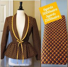 African Blouses, African Lace Dresses, African Fashion Ankara, African Print Fashion, African Prints, African Attire, African Wear, African Print Dress Designs, Ghana