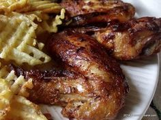 Romanian Food, Romanian Recipes, Chicken Wings, Main Dishes, Chicken Recipes, Oven, Pork, Food And Drink, Cooking Recipes