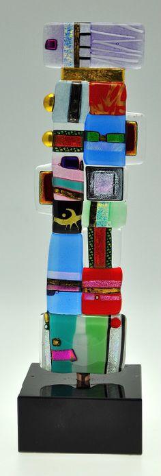 Mosaic Totem by Robert Buick rlbuick@talkwireless.ca