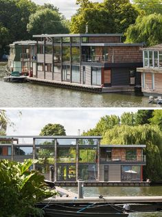 Houseboats are attractive alternatives to ordinary houses. They're often more affordable and usually offer exceptional views of nature. Here are 11 examples of modern houseboats from around the ...