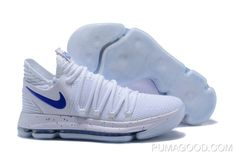 official photos b1d68 ff909 New Release Nike Kd 10 White Blue