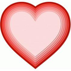 Silhouette Design Store - Search Designs : dangling hearts
