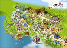 Orlando Theme Park News: LEGOLAND Floridas High-Definition park map plus construction pictures (from March 2011)