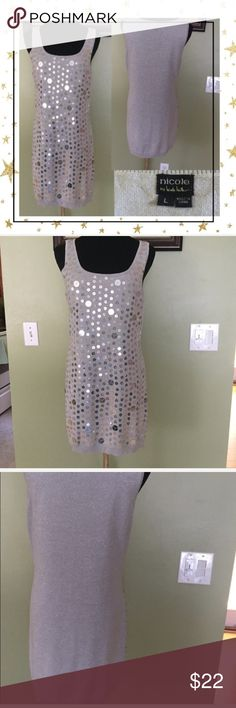 Nicole Miller night Out Dress (GY23N8B) Beautiful dress to sparkle your night.great condition. Offers welcome. No trade Nicole Miller Dresses Mini