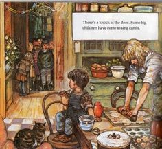 Shirley Hughes Lucy & Tom's Christmas, Magic from my childhood
