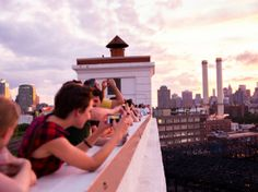 Cool things to do on NYC rooftops--including outdoor nail salon