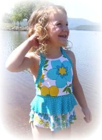 Love these modest swimsuits for girls & preteens.