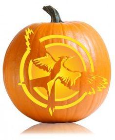 211eb2b0c5 Mockingjay Hunger Games Cover Pumpkin Pattern Hunger Games Series