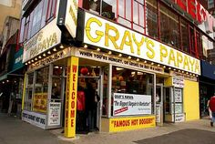 I stood right in that front window & enjoyed their famous hot dog in the great New York!!