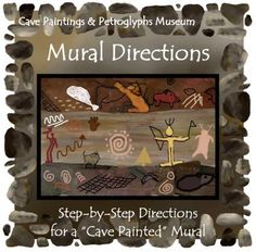Cave Mural Directions (INCLUDED in Cave Paintings & Petroglyphs Museum Bundle) from ThematicTeacher on TeachersNotebook.com -  (9 pages)  - Create a cave in the corner of your classroom to help your students learn more about a cave biome, rock formations, or ancient rock art.
