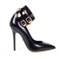 These Versace Ankle Cuff pumps are the sexiest shoes we'e ever seen. 39850
