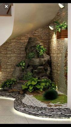 40 Awesome Indoor Garden Design Ideas That Look Beautiful - Garden Decor Home Garden Design, Interior Garden, Home Interior Design, Home And Garden, Outdoor Plants, Outdoor Decor, Zen Home Decor, Design Jardin, Home Vegetable Garden