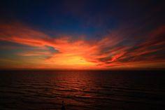 sunset in Tel-Aviv beach by Lior. L