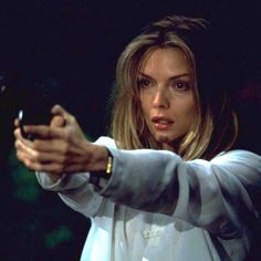 "Michelle Pfeiffer in ""Wolf"" movie scene."