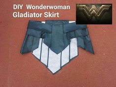 DIY Wonder Woman Gladiator skirt. Wonder Woman Cosplay Part 1 - YouTube