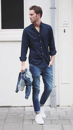 35 Cute and Fashionable Work Outfit for Men In Spring, , Mens Fashion Style, Mode Man, Moda Blog, Latest Mens Fashion, Fashion Men, Fashion Ideas, Fashion Clothes, Fashion Photo, Style Fashion, Men's Spring Fashion