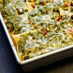 Green Goddess Enchiladas