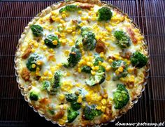 Vegetable Pizza, Quiche, Vegetables, Cooking, Breakfast, Recipes, Food, Fit Meals, Impreza