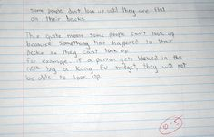 Kids write the darndest things when they're failing exams. Again. (previous edition: http://bit.ly/nerBzo)