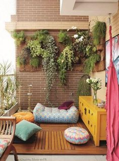 Small balcony decor ideas vertical garden