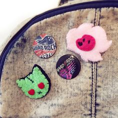 Steven Universe Lion handmade pins // Custom brooches by Leapher