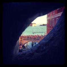 The last prisoner's glimpse #pontedeisospiri #venice #prison #palazzoducale
