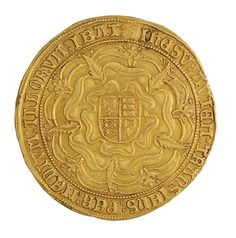 Gold 2 sovereign, Tower Bridge (England), 1550 - 1553. 1954.237.61