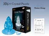 3D Jigsaw Puzzle, Cube Crystal Puzzle  Clear Water Drop, Gift Ideas $7.99