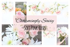 Soft Pink Roses Styled Stock Photos by Charmingly Savvy on @creativemarket
