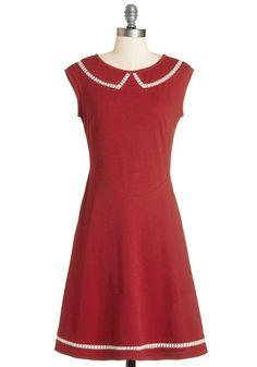 #fashion #cute #red #dress #collars