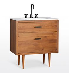 Marquam Teak Single Vanity - Home Decor - Bathroom Accessories - Yauina Bath Collections Zen Bathroom, Rustic Bathroom Vanities, White Vanity Bathroom, Chic Bathrooms, Bathroom Shelves, Master Bathroom, Bathroom Ideas, Modern Bathroom, Small Bathroom